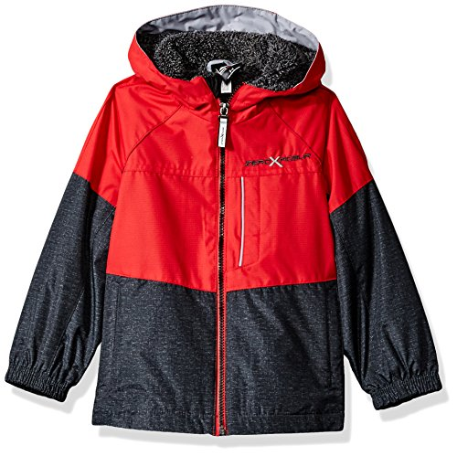 ZeroXposur Little Juvi Boys Expediter Lightweight Jacket, Red, Medium