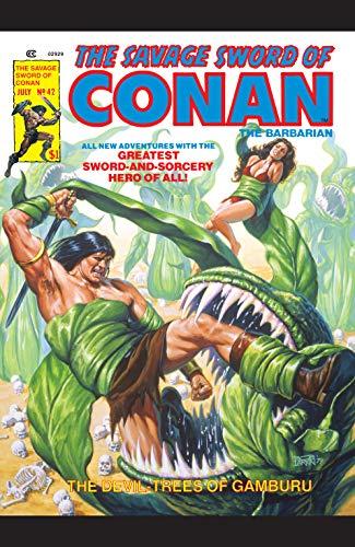 Savage Sword Of Conan (1974-1995) #42 (English Edition)