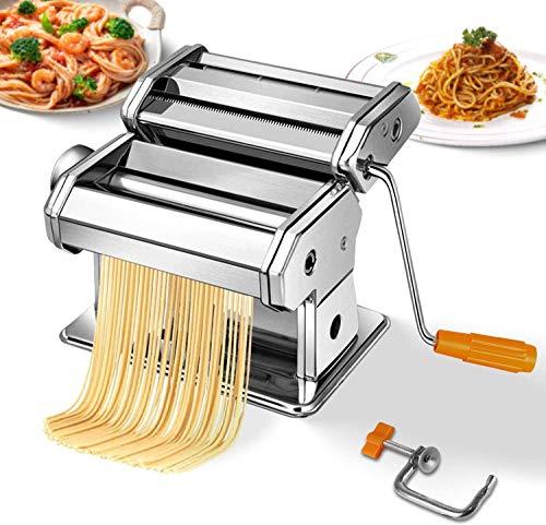ROOCHL Merkmale Sechs Starke-Set Edelstahl Nudel Maschinen-Professionelle Nudel Pressen Und Spaghetti Messer Für Spaghetti, linguine, Lasagne, Und Nudeln