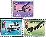 Prophila Collection Polonia Michel.-No..: 2119-2121 (Completa.edición.) 1971 Kriegsflugzeuge (Sellos para los coleccionistas) Militar