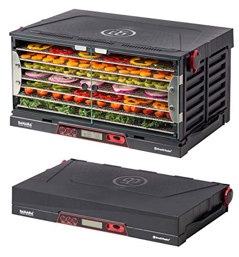 For Sale! Brod & Taylor SAHARA Folding Food Dehydrator, Beef Jerky, Fruit Leather, Vegetable Dryer (...