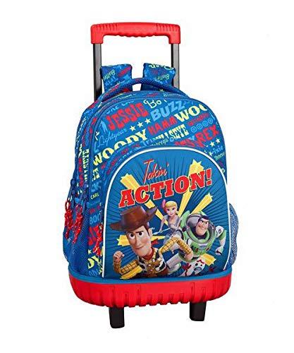Toy Story 4 Mochila grande con ruedas carro fijo  Trolley