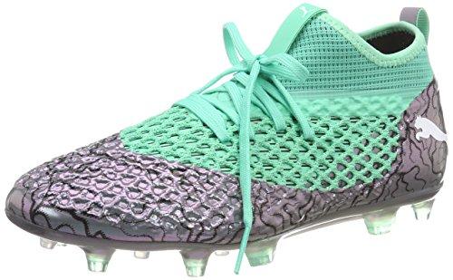 Puma Future 2.2 Netfit FG/AG, Chaussures de Football Homme, Violet (Color Shift-Biscay Green White Black), 43 EU
