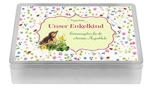Aufbewahrungsbox - Unser Enkelkind (Marjolein Bastin): Erinnerungsbox für die schönsten Augenblicke