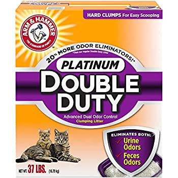 Arm & Hammer Platinum Double Duty Clumping Cat Litter Review