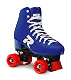 Roces 52 Star Quad Skate, Unisex - Adulto, Azul, 38