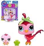 Littlest Pet Shop Bird and Baby Bird Figure Set