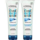 L'Oreal Paris Hair Care EverFresh Antidandruff Shampoo Sulfate Free, 2 Count (8.5 Fl. Oz each)