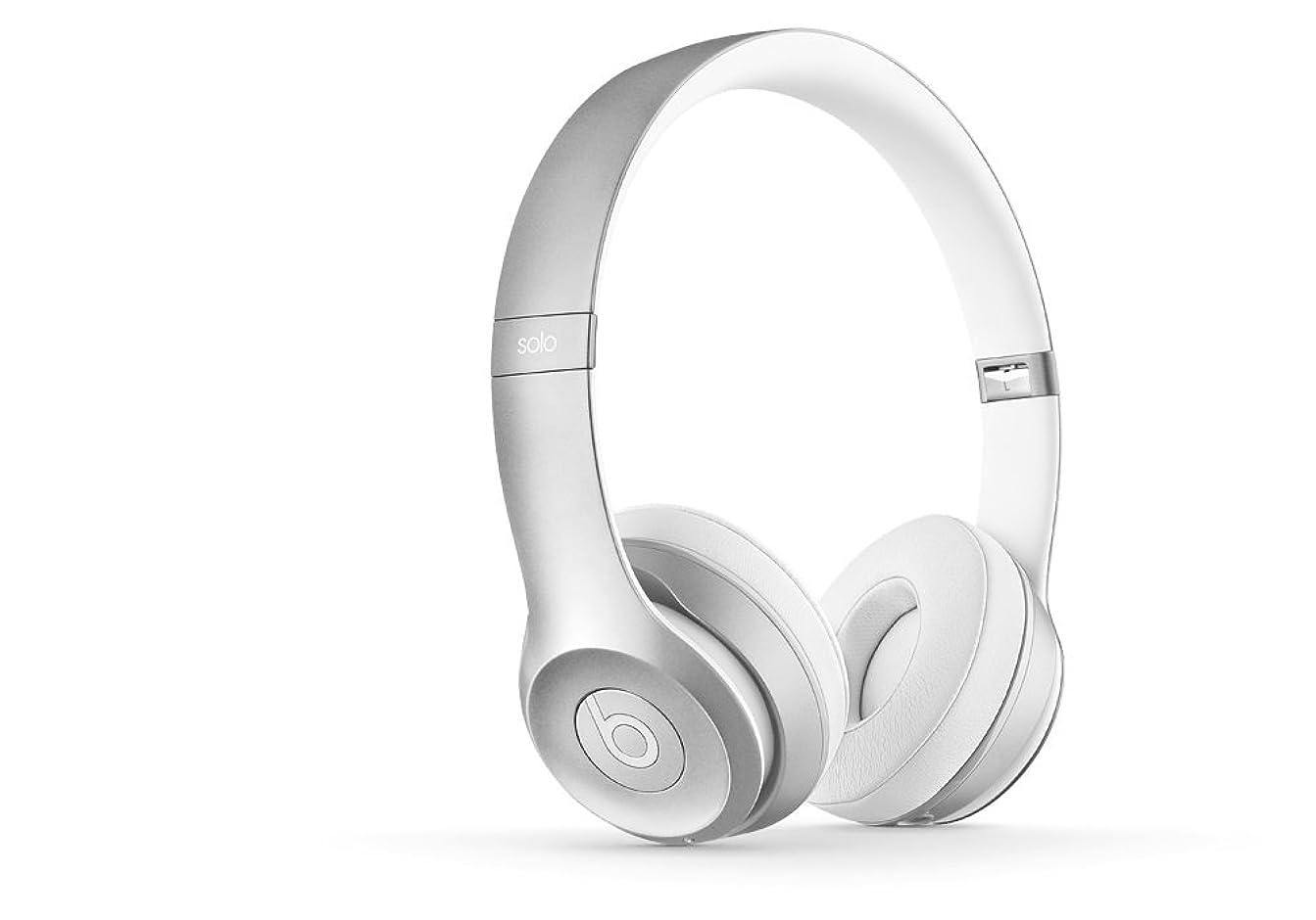 鷹乱雑なピン国内正規品Beats Solo2 ワイヤレスオンイヤーヘッドフォン Bluetooth対応 シルバー MKLE2PA/A