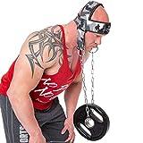 C.P. Sports Zughilfen Kopf und Nackentrainer Schwarz, One Size, mit Kette Verstellbarer Nacken...