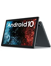 VASTKING KingPad K10 10インチ タブレット, Android 10, 解像度1920*1200,オクタコアタブレット, 最大1.8Ghz, 3GB RAM, 32 GB ROM, 13MPリアカメラ, Bluetooth 5.0, 2.4GWIFI,5G Wi-Fi, GPS, フルメタルボディ (シルバー)