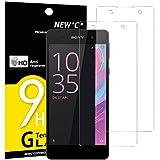 NEW'C Lot de 2, Verre Trempé pour Sony Xperia E5 Film Protection écran - Anti Rayures - sans...