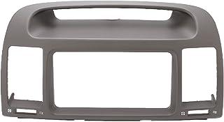 Fascia do rádio do carro, painel decorativo ABS anti-arranhões moldura estéreo à prova d'água à prova de desgaste durável ...