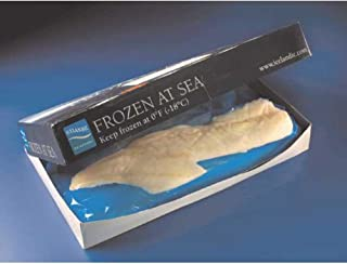 Frozen At Sea Cod Fillet, 16 to 32 Ounce of Varies Pieces Per Bag, 12 Pound -- 4 per case.