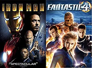 He was turned to steel In the great magnetic field Where he traveled time For the future of mankind: Iron Man & Fantastic 4 2-DVD Bundle Marvel Comics Universe Collection