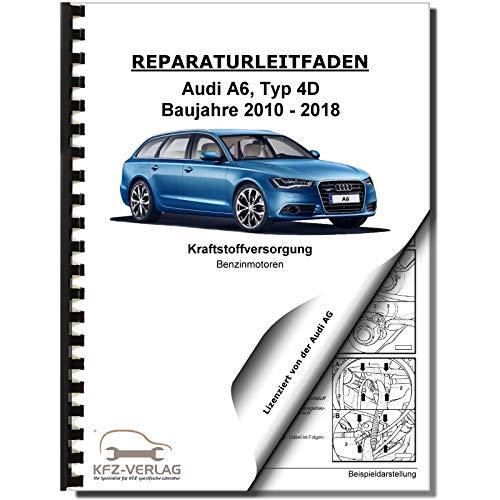 Audi A6 Typ 4G (10-18) Multitronic Getriebe 0AW Frontantrieb Reparaturanleitung