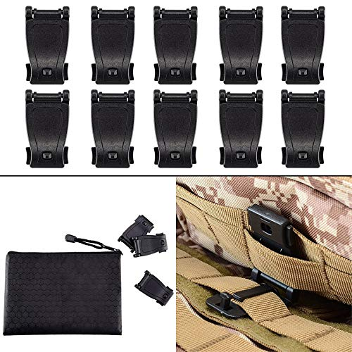 BOOSTEADY MOLLE Clips Tactical Strap Management Tool Web Dominator Backpack Accessories