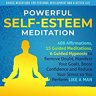 Powerful Self-Esteem Meditation cover art