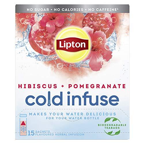 Lipton Kaltinfusion Granatapfel & Hibiskus 6 x 15 Beutel 560,00 g