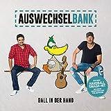 Auswechselbank Ball in der Hand - der Handballsong