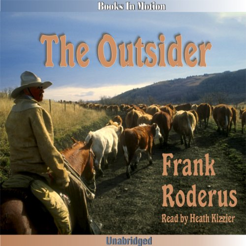 The Outsider audiobook cover art