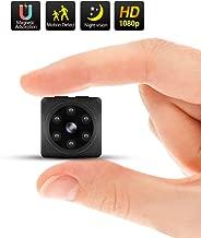 ODLICNO Mini Cámara 1080P HD Cámara de seguridad,Cámara Espía mejorada para visión nocturna y detección de movimiento, Cámaras para vigilancia en interiores o exteriores, Oficina Hogar y Automóvil (Admite Tarjeta Micro SD de 32 GB)