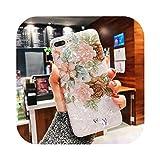 絶妙なしい For iphone 8/8プラス7 6 6 sプラスのカバーのためのファッションの巻き貝の殻の花の電話ケースFor iphone X Xr Xsのための柔らかいTPU Fundas最大装着ケース-1-For iphone 6 6S Plus