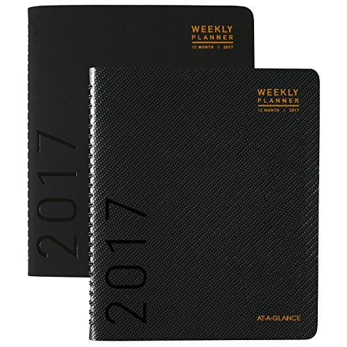 "AT-A-GLANCE Weekly / Monthly Planner / Appointment Book 2017, 6-7/8 x 8-3/4"", Color Selected For You May Vary (70-545X-00)"
