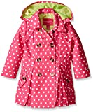 LONDON FOG Girls' Lightweight Trench Dress Coat Jacket, Navy, 18 Months