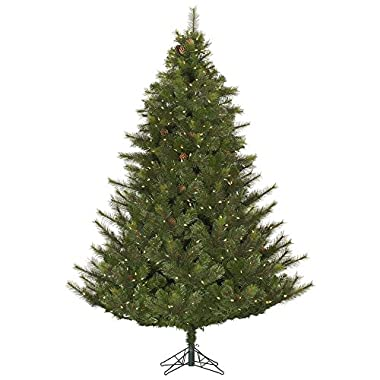 Vickerman 65' Modesto Mixed Pine Artificial Christmas Tree with 450 Warm White LED lights