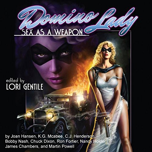 Domino Lady audiobook cover art