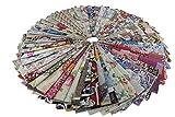 Retales de Tela 45x45, Tela para Manualidades de Algodón y Poliéster, Patchwork Costura Decorativa. (20pcs)