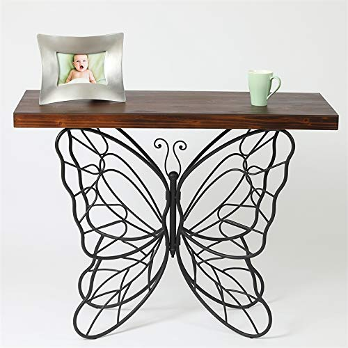 Pemberly Row Butterfly Accent Table