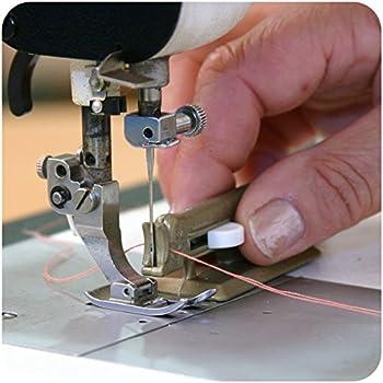 Aguja para máquina de coser y coser a mano, enhebrador automático ...