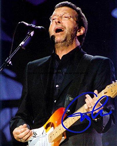 Eric Clapton Autographed Preprint Signed Photo 10