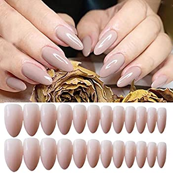 Best nude almond nails Reviews