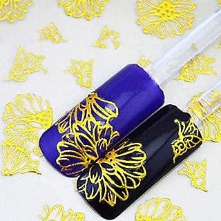 12pcs 3D Nail Stickers Nail Jewelry nail art Manicure Pedicure Punk/Fashion Daily/PVC(PolyVinyl Chloride)