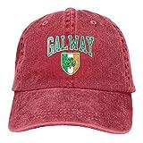 Gorra de béisbol para hombre y mujer Trucker Sombreros Denim Snapback Galway Irlanda para papá mamá