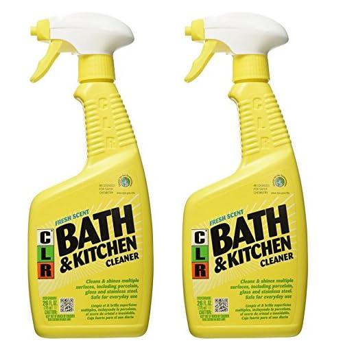 Jelmar Pb-Bk-2000 Clr Fresh Scent Bath And Kitchen Cleaner, 26 Oz