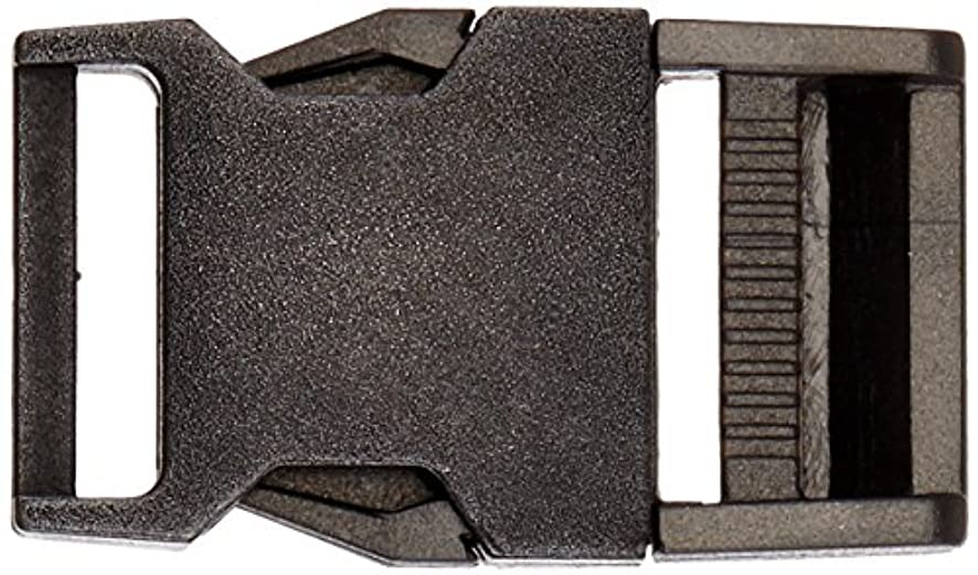 Dritz 486 Parachute Buckle for 1-Inch Strap, Antique Silver