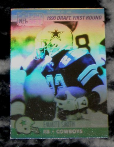 1990 Pro Set Football #685 Emmitt Smith RC - Dallas Cowboys - Rookie Card