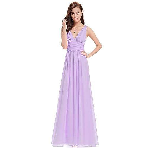 e4128e8e65 Ever-Pretty Sleeveless V-Neck Semi-Formal Maxi Evening Dress 09016