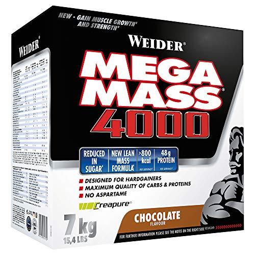 Weider - Mega Mass 4000 7 kg Weider-Partnershop (Schoko)