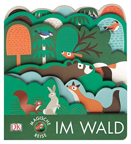 Magische Reise. Im Wald: Pappbilderbuch mit Glanz- und Struktur-Elementen ab 2 Jahren