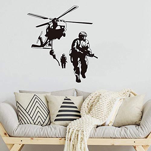 Nuevo helicóptero Army Wall Marine Corps Vinilo Wall Designer Car Logo Patrón Foto