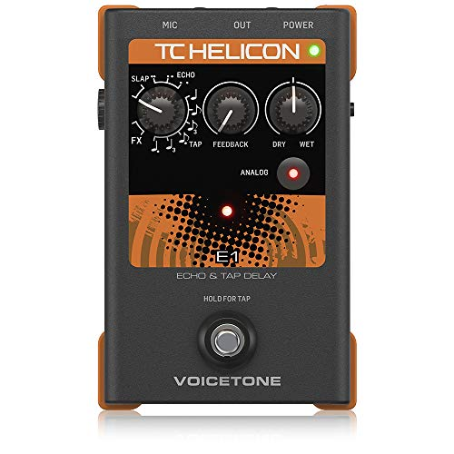 TC Electronic Singles VoiceTone E1 Vocal Effects Processor