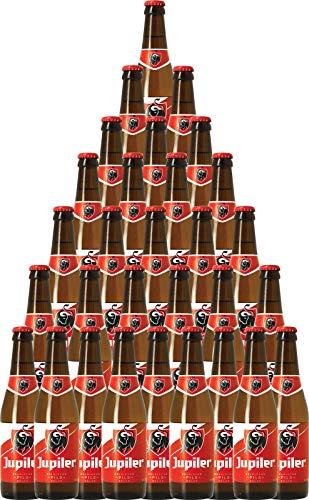 30er-Paket Bier | Bierpaket | Internationales Bier | Großpaket zum Sparpreis (30er-Paket Jupiler Belgisches Pils/Lager-Bier)