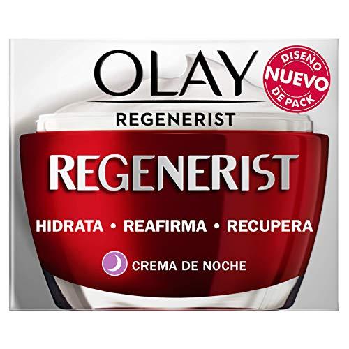 Olay Regenerist Crema Facial de Noche Plus, Fórmula con Vitamina B3 y Niacinamida, 24h de Hidratación, 50 ml