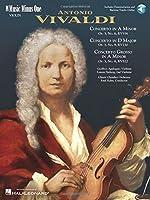 Antonio Vivaldi: Two Concerti: A Minor, La Minore, Op. 3, No. 6, RV356: D Major, Re Maggiore, Op. 3, No. 9, RV230 for Violin and Orchestra / Concerto Grosso: A Minor, La Minore, Op. 3, No. 8, RV522 for Two Violins and Orchestra (Music Minus One (Numbered))