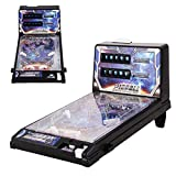 Space Pinball Machine for Kids Mini Tabletop Game Arcade Machine with Scorer and Lights and Music, Pinball Game, Pinball Toys